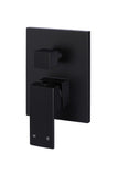 Square Diverter Mixer - Matte Black - MW02
