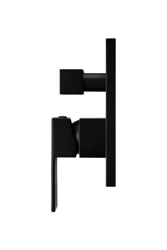 Meir Square Wall Mixer - Matte Black (SKU: MW02) Image - 3