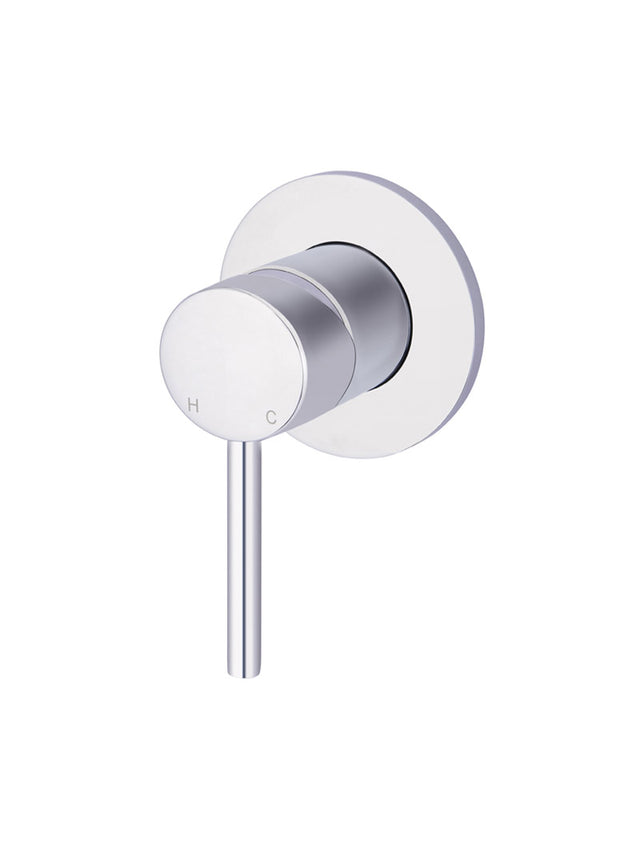 Meir Round Wall Mixer - Polished Chrome (SKU: MW03-C) Image - 1