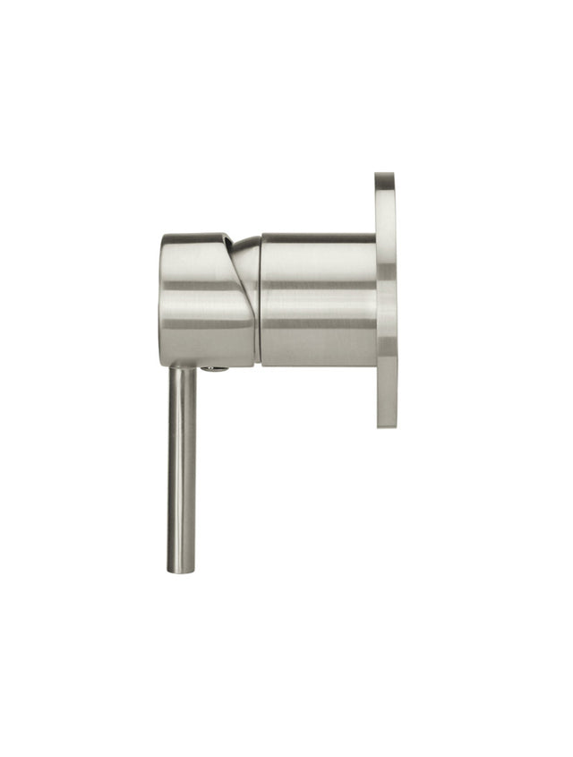 Meir Round Wall Mixer - PVD Brushed Nickel (SKU: MW03-PVDBN) Image - 2