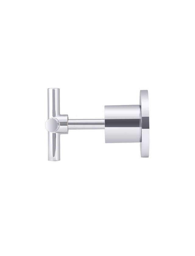 Meir Round Jumper Valve Wall Top Assemblies - Polished Chrome (SKU: MW08-C) Image - 2