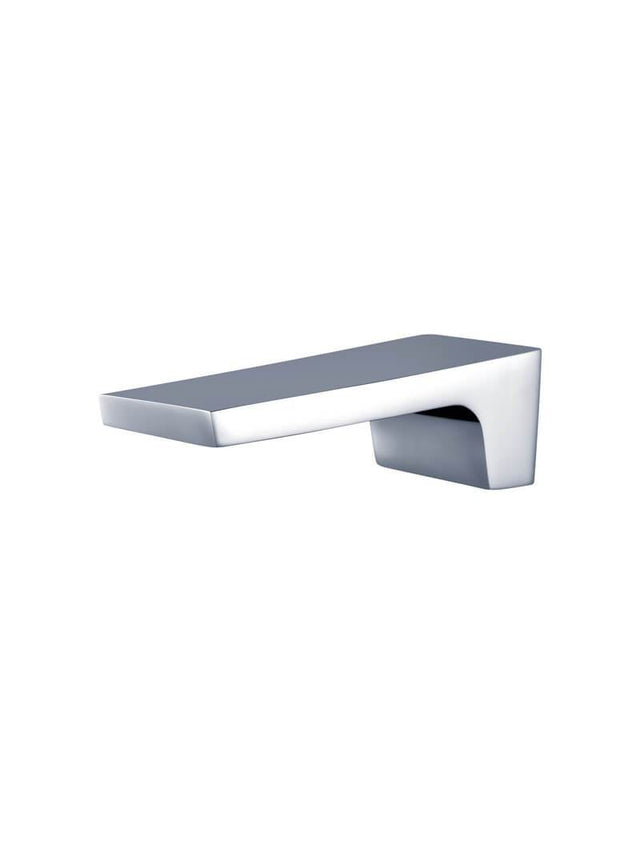 Square Waterfall Wall Spout - Polished Chrome