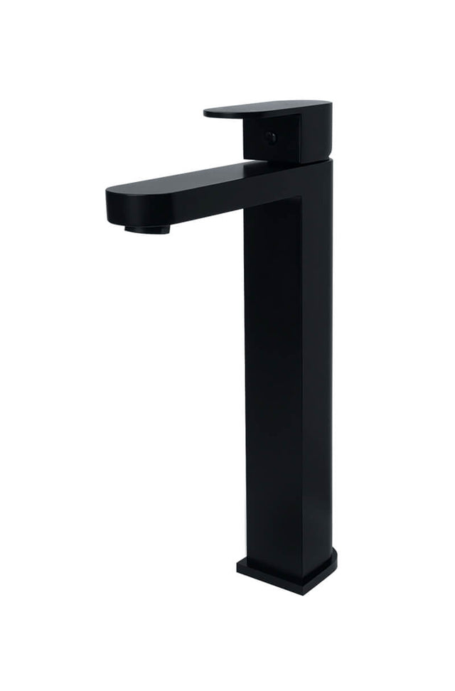 Meir Zitto Tall Basin Mixer - Matte Black (SKU: MBZ04) Image - 1