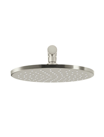 Round Wall Shower 250mm rose, 400mm arm - PVD Brushed Nickel