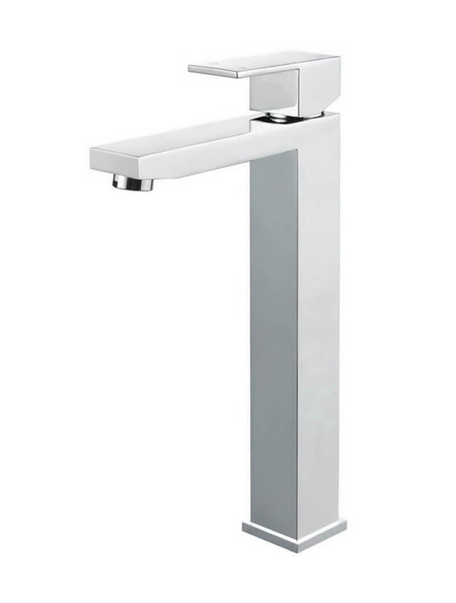 Meir Square Tall Basin Mixer - Polished Chrome (SKU: MB04-C) Image - 5