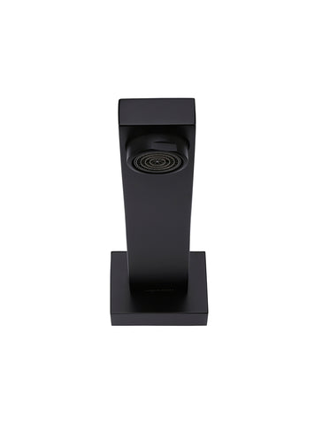 Square Basin Wall Spout - Matte Black