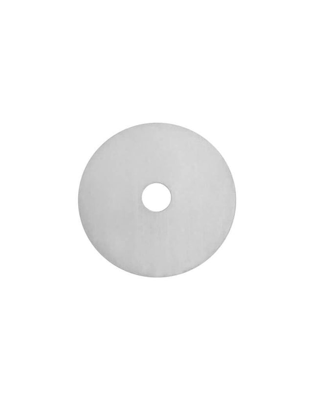 Round Tapware Colour Sample Disc - PVD Brushed Nickel