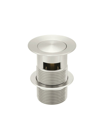 Basin Pop Up Waste 32mm - Overflow / Slotted - Brushed Nickel