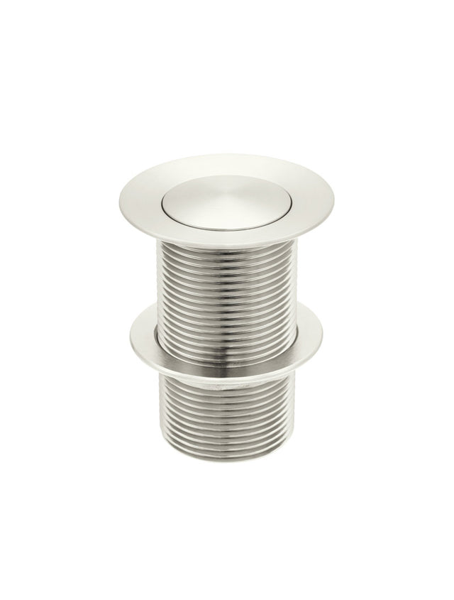 Meir Basin Pop Up Waste 32mm - No Overflow / Unslotted - PVD Brushed Nickel (SKU: MP04-B-PVDBN) Image - 1