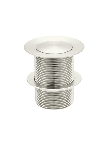 Basin Pop Up Waste 40mm - No Overflow / Unslotted - Brushed Nickel
