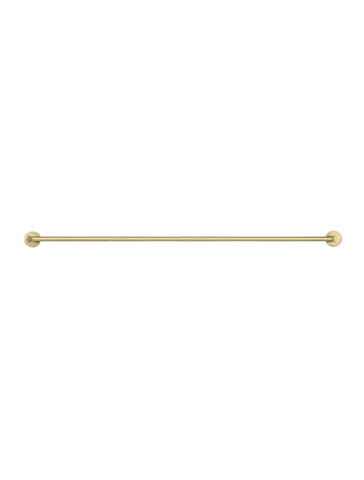 Round Double Towel Rail 900mm - Tiger Bronze