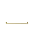 Round Single Towel Rail 600mm - Tiger Bronze - MR01-SR60-BB