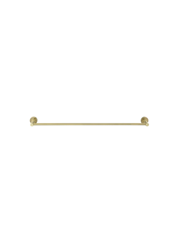 Meir Round Single Towel Rail 600mm - Tiger Bronze (SKU: MR01-SR60-BB) Image - 3