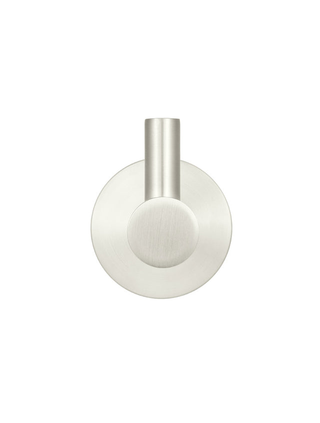 Meir Round Robe Hook - PVD Brushed Nickel (SKU: MR03-R-PVDBN) Image - 2
