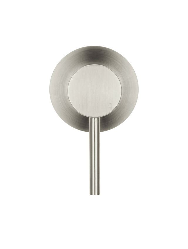 Meir Round Wall Mixer - PVD Brushed Nickel (SKU: MW03-PVDBN) Image - 3