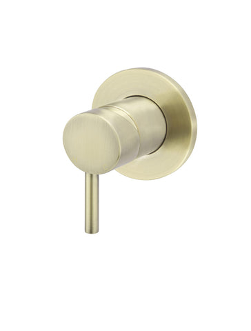 Round Wall Mixer short pin-lever - Tiger Bronze