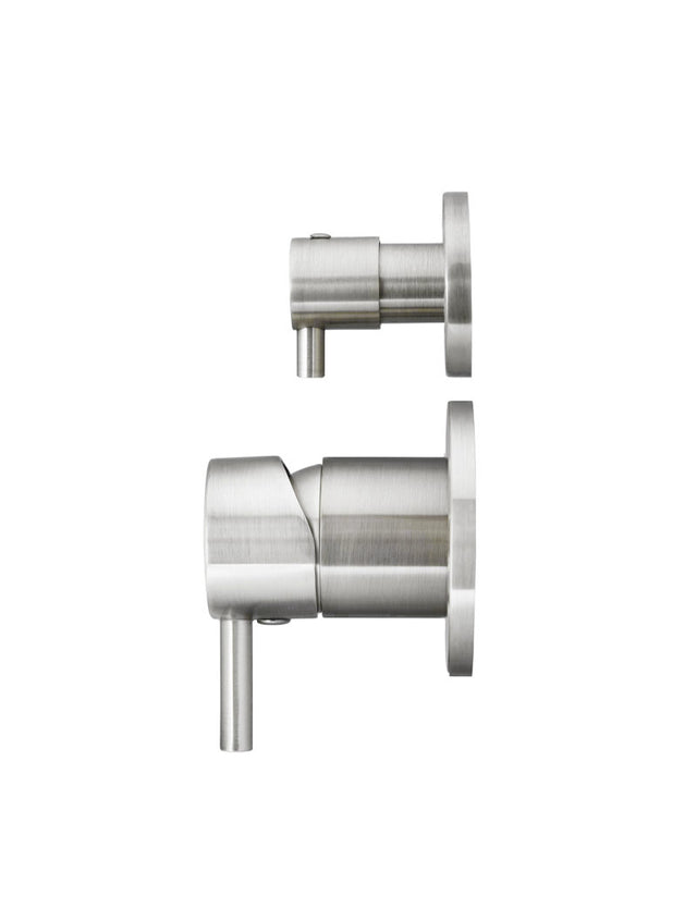 Meir Round Diverter Mixer - PVD Brushed Nickel (SKU: MW07TS-PVDBN) Image - 2
