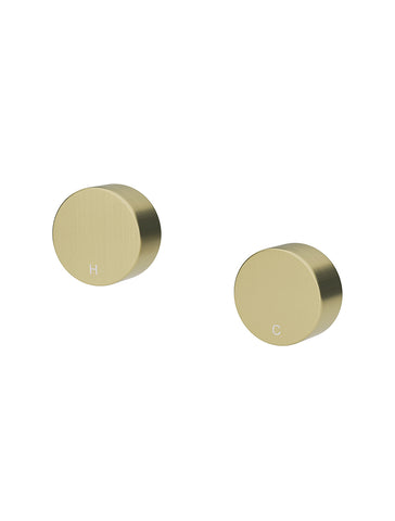 Circular Wall Taps - Tiger Bronze