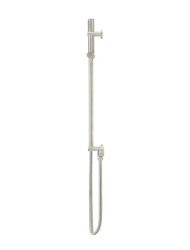 Meir Round Shower on Rail Column - PVD Brushed Nickel (SKU: MZ0402-R-PVDBN) Image - 3