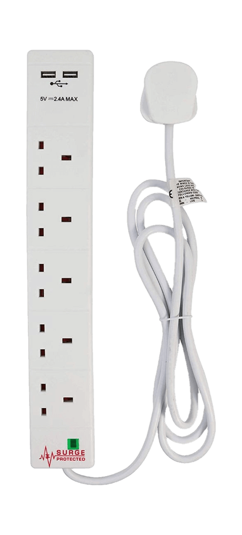 Extension cable with USB