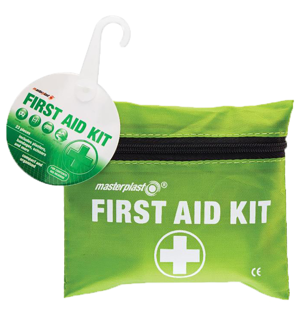 24 Piece First Aid Kit