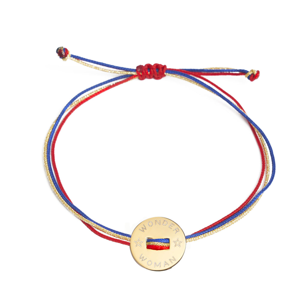 bracelet WONDER WOMAN ou SUPERMAN