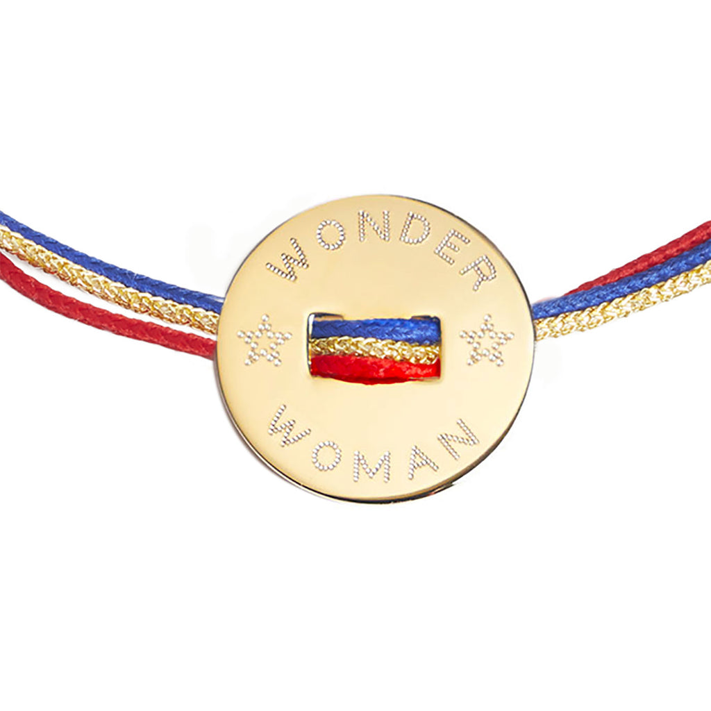 WONDER WOMAN or SUPERMAN bracelet