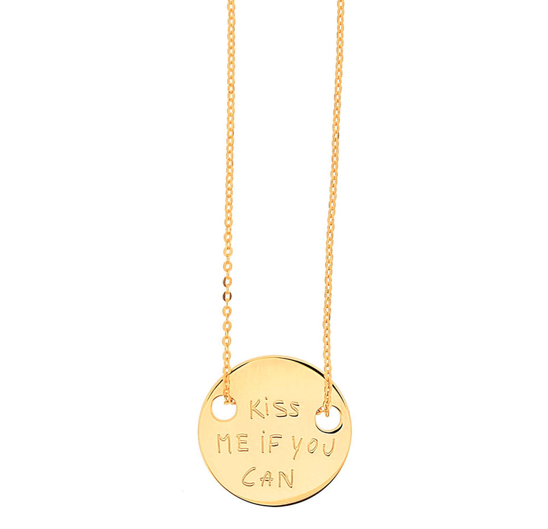 collier kissme_or