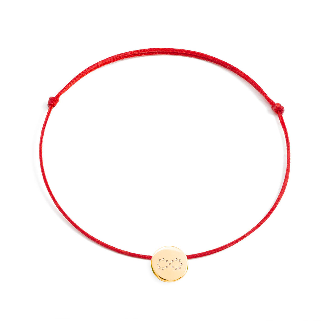 bracelet with a symbol on a 925 silver medal, gold-plated or gold plated rose
