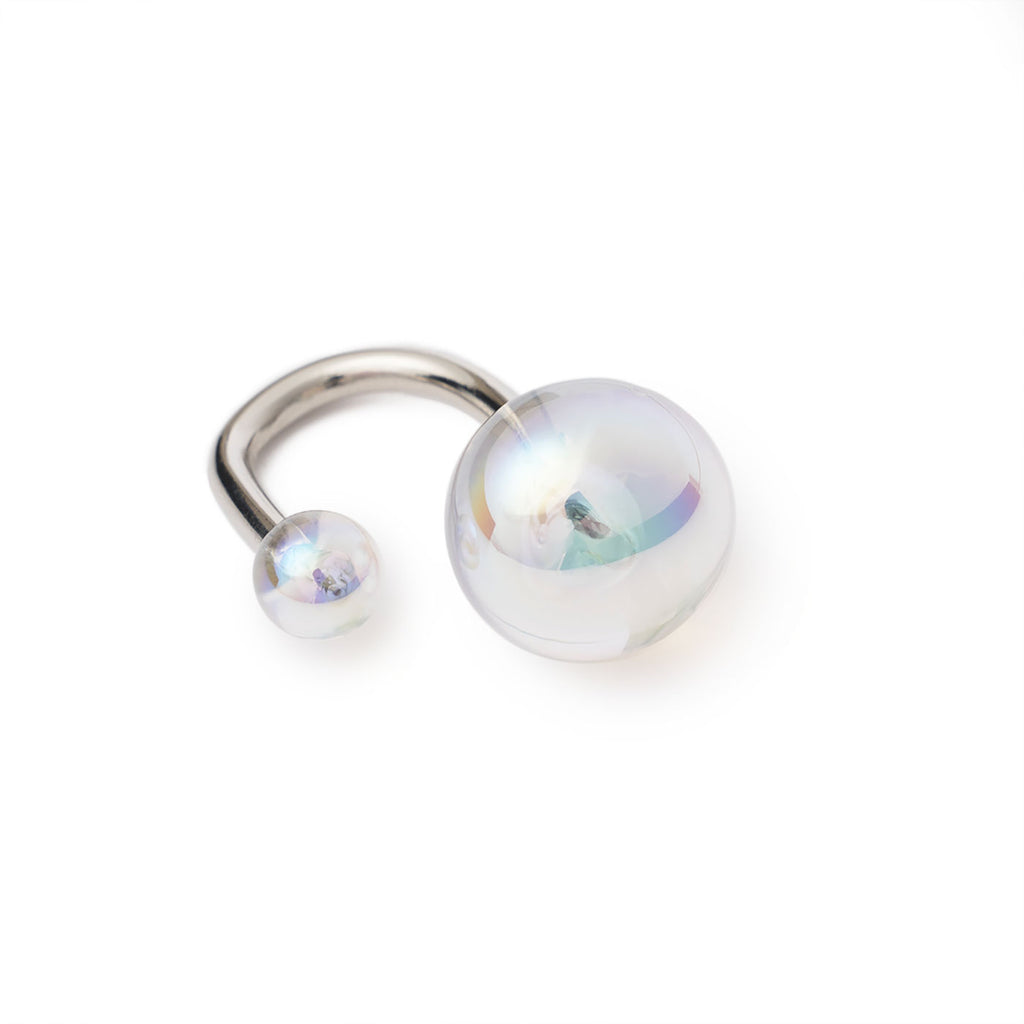 Ring with two bubbles