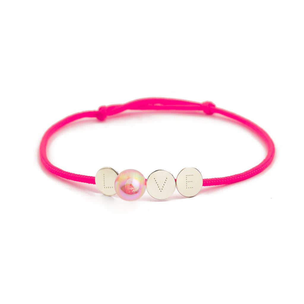 "Pulseira BUBBLE OF LOVE ""LOVE"""
