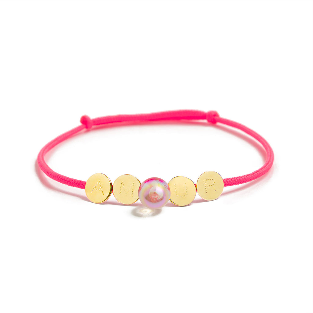 Love bubble Bracelete amor""