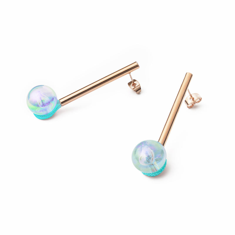 one bubble earrings (small)