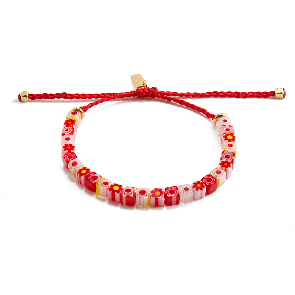 bracelet with MURANO glass beads