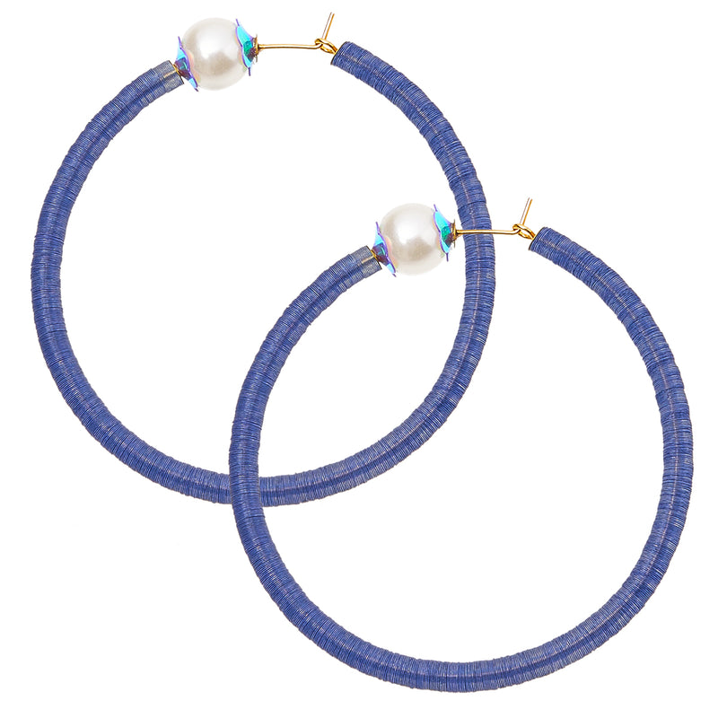 maxi hoops with sequins