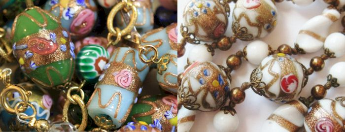 Fiorate beads. Source: Stravagante Jewelry
