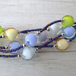 Bòvolo - Light Murano Glass Bracelet