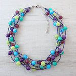 Bòvolo - Dark Murano Glass Necklace