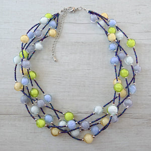 Bòvolo - Light Murano Glass Necklace