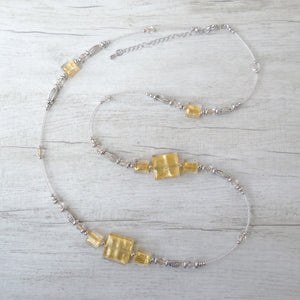 Cantóni - Gold Murano Glass Necklace