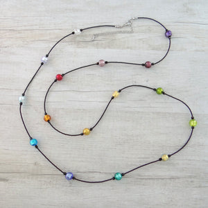 Coriandoi - Murano Glass Long Necklace
