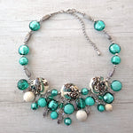 Giosse - Blue Lagoon Murano Glass Necklace