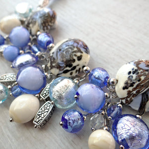 Giosse - Periwinkle Murano Glass Necklace