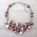 Giosse - Purple Murano Glass Necklace