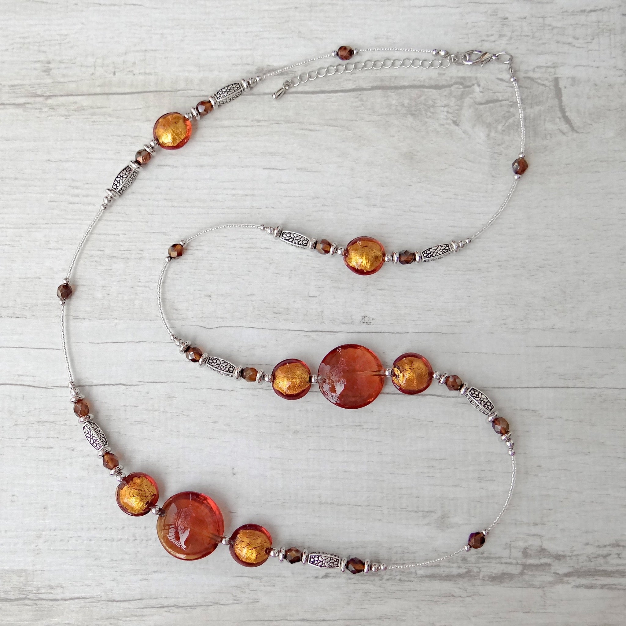 Làgreme - Topaz Murano Glass Necklace