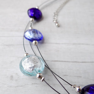 Rèfolo - Periwinkle Murano Glass Necklace