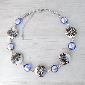 Schèi - Periwinkle Murano Glass Necklace