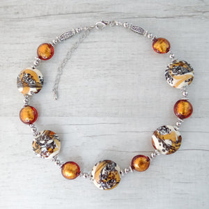 Schèi - Topaz Murano Glass Necklace