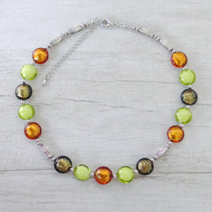 Ciàcola - Topaz Murano Glass Necklace