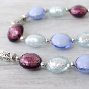 Ciàcola - Purple Murano Glass Necklace